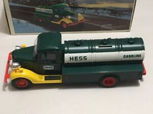 First Hess Truck Toy Bank Gasoline Truck Collectible In Box Ebay