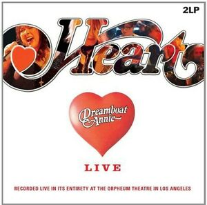 Heart-Dreamboat-Annie-Live-New-Vinyl-Holland-Import