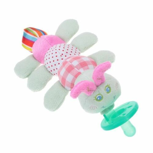 Toddler Infant Baby Boy Girl Kid Soothie Silicone Pacifiers Cuddly Plush Animal