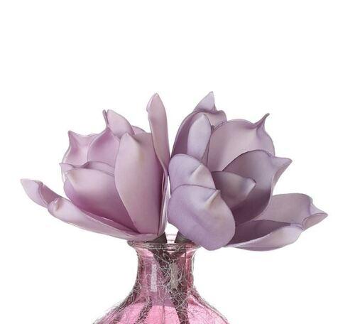 38249 Fleur Foam Flower Sonora mousse fleur L 18 cm mauve 2 fois triées