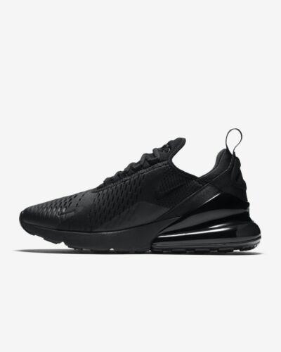 5 Nike Black Triple Auténtico Mens Max 8 Air 270 All 10 Kids Uk Size PHPfr