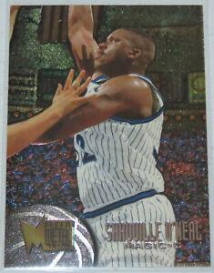 1995-96-Shaquille-O-039-Neal-Orlando-Magic-NBA-Basketball-Fleer-Metal-Card-78-NM