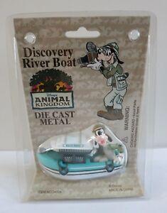 Disney Animal Kingdom Discovery River Boat Die Cast Goofy Hasty