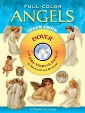 NEW - Full-Color Angels CD-ROM and Book (Dover Electronic Clip Art)