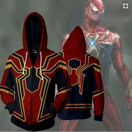Avengers 3 Iron Man Tony Stark Hoodie Sweatshirt For Men 3D Print Hoodies