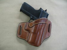 Sig Sauer P 250, 320 Sub Compact OWB Leather 2 Slot Pancake Belt Holster TAN RH