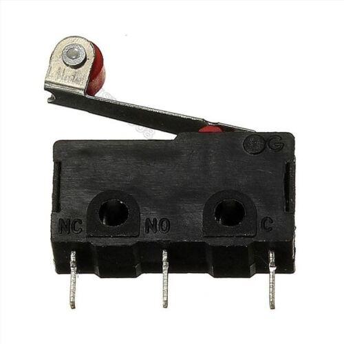 10 Stücke KW12-3 KW12 Micro Roller Hebel Normalerweise Schließender Endschalt lt