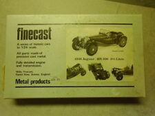 Finecast 1938 Jaguar SS 100 3 1/2 Litre 1/24 Metal Kit