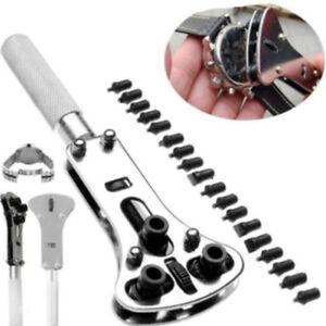 Armbanduhr-Reparatur-Werkzeug-Uhrmacherwerkz-Zurueck-Gehaeuseoeffner-Uhrmacher