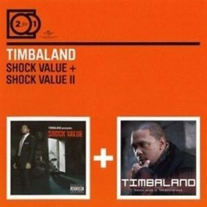 TIMBALAND-2-FOR-1-SHOCK-VALUE-SHOCK-VALUE-II-2-CD-NEU