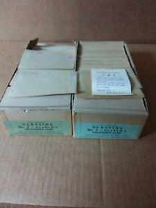 Lot of 1500 Vintage Unused Glassine Worcester Envelopes 2 Opened Boxes #3 Size