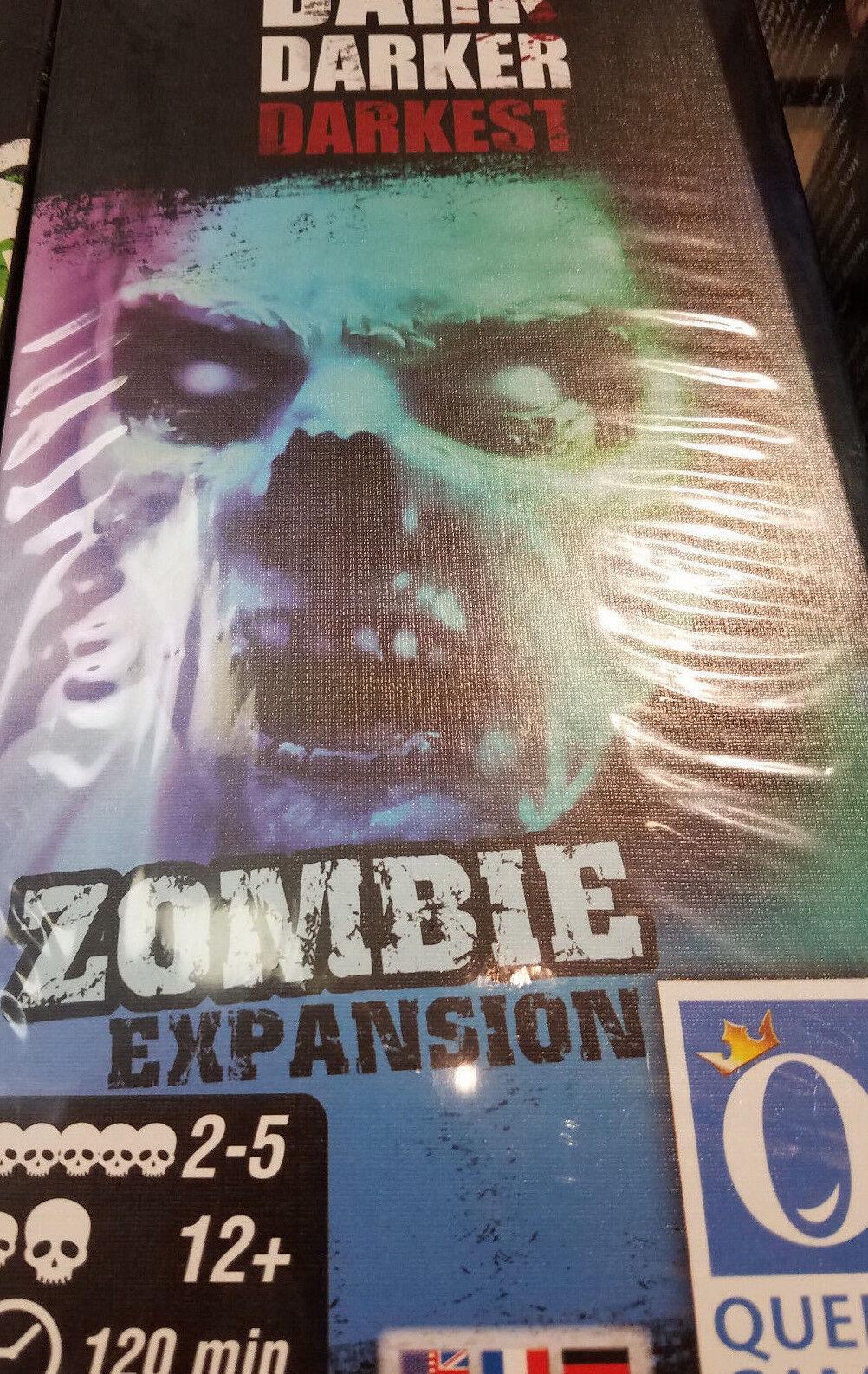 Dunkel Darker Darkest Zombie Erweiterung - Brettspiel Queen Games Neu