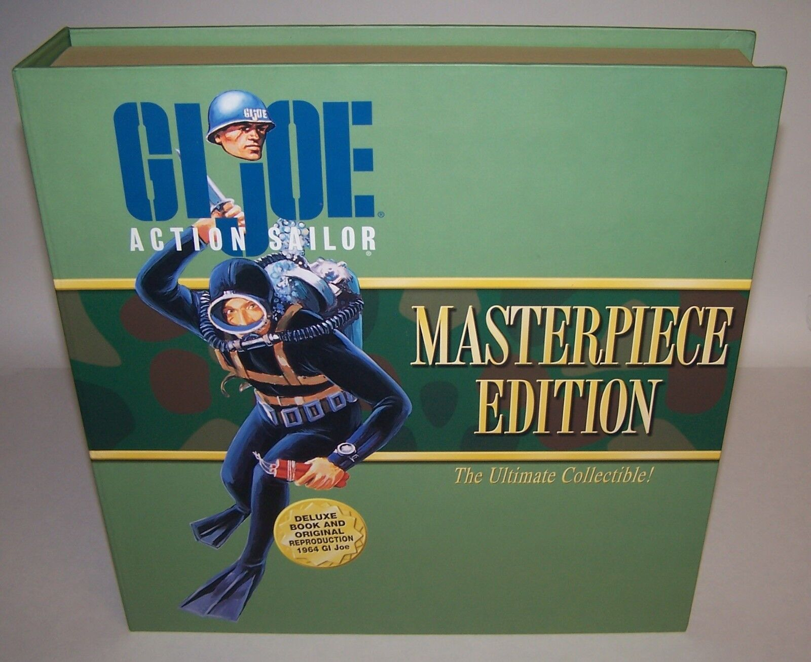 GI Joe Action Sailor The Story Behind The Legend Masterpiece Ed 1964 Repro