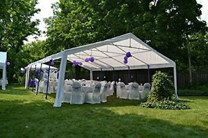 32'x 20' Wedding Party Tent Event Canopy Carport Sidewall Gazebo Shelter