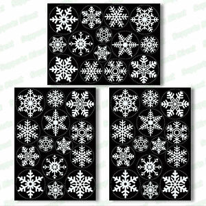 42-Snowflake-Window-Clings-Reusable-Stickers-Quick-Simple-Christmas-Decorations
