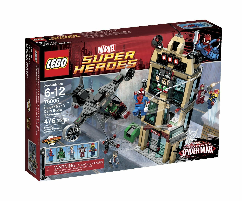 LEGO SPIDERMAN - 76005 Daily Bugle Bugle Bugle Showdown - NEW 49c7dc