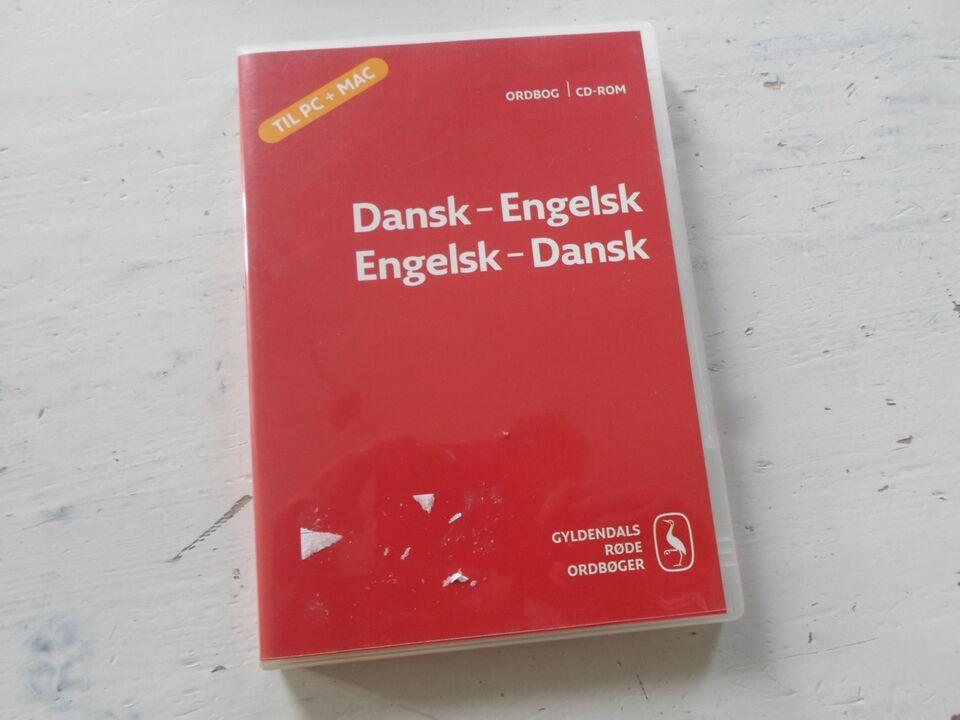 gyldendals røde ordbog engelsk