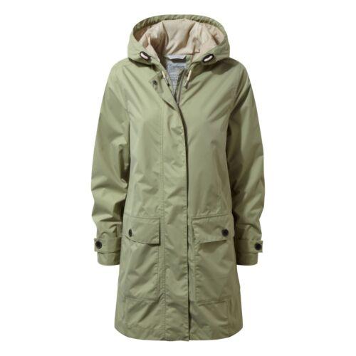 Craghoppers Women/'s Kylie Waterproof Long Coat Bush Green