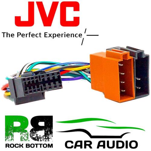 JVC KD-S721 Modelo De Coche Radio Estéreo 16 Pin arnés de cableado Telar ISO Adaptador De Plomo