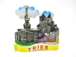 Trier-Souvenir-Magnet-Porta-Nigra-Poly-Fridge-Germany-Deutschland-Neu