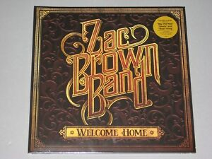 Zac Brown Band Welcome Home Lp Gatefold New Sealed Vinyl
