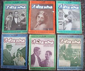 1930-LOTTO-DI-6-RIVISTE-LETTERARIE-039-IL-DRAMMA-039