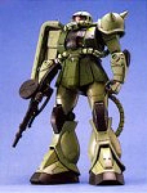 Nuovo Bandai MG 1 100 MS-06F S Zaku II Modello Plastica Kit Mobile Suit Gundam
