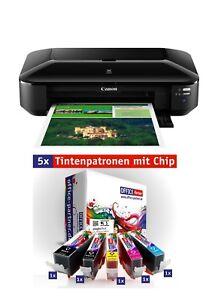Canon-PIXMA-iX6850-Tintenstrahldrucker-A3-LAN-WLAN-Mobil-Druck-Cloud-faehig