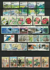 MNZ69-New-Zealand-1992-Stamp-Sets-CTO-Used