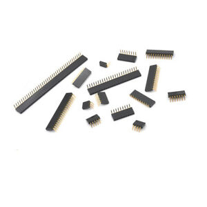 10-20-50X-2P-40P-Header-Right-Angle-Female-Single-Row-Socket-Connector-2-54Mm-PM