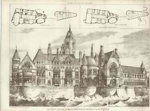 1887-University-College-Of-Wales-Aberystwyth-As-About-To-Be-Restored