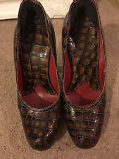 Vivienne Westwood Mock Croc Elevated Courts Heels Size 5 38 / 39 6 Shoes Boxed