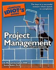 The Complete Idiot's Guide to Project Management, 4th Edition (Complet-ExLibrary