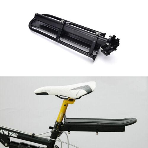 Adjustable Bike Rear Cargo Rack Touring Bag Panniers Carrier Seatpost Mount DSUK