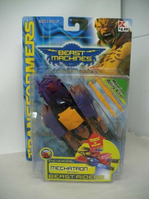 Hasbro Transformers Beast Machines Beast Riders MECHATRON Figure NEW
