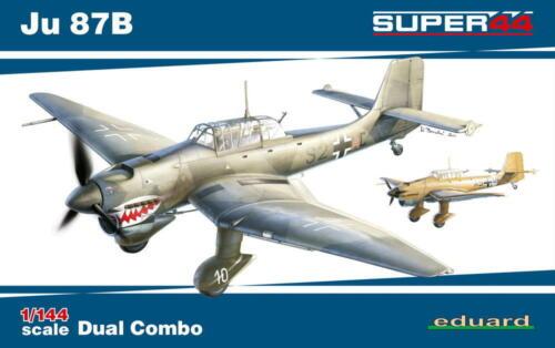 EDUARD 4431 WWII German Junkers Ju87B Super44 in 1:144 DUAL COMBO