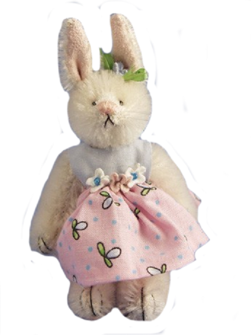 Deb Canham Barbie Bunny from the Bunnies Collection