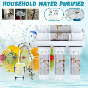 US 5 Stage Home Drinking Water Filter Purifier Ultra-filtrati