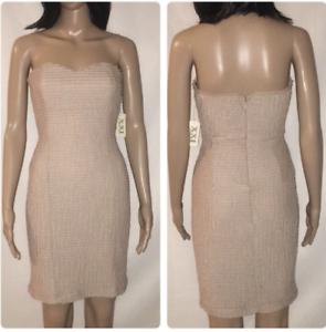 519ed2450df New Forever 21 Strapless Dress Size Medium Cream Free Ship nsjlfd2825- Dresses