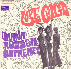 DIANA-ROSS-amp-THE-SUPREMES-Love-Child-1968-MOTOWN-SINGLE-7-034-HOLLAND