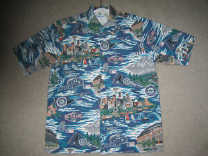 88da0d80 Image is loading SEATTLE-MARINERS-HAWAIIAN-SHIRT-CLASSIC-MARINER-039-S-