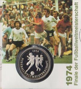 Numisbrief-Deutschland-1974-Fussball-WM-1994-100-50-Pfg-Briefmarke-Stempel-Bonn