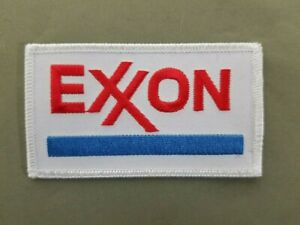 Exxon Gas Embroidered Iron On Patch