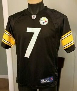 new concept 262e8 d3f7c Details about Ben Roethlisberger Pittsburgh Steelers Jersey Youth Large  Reebok NFL