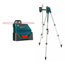 Bosch Self-Leveling 360-Degree Exterior Laser w/LD3 Detector GLL150ECK-RT Recon