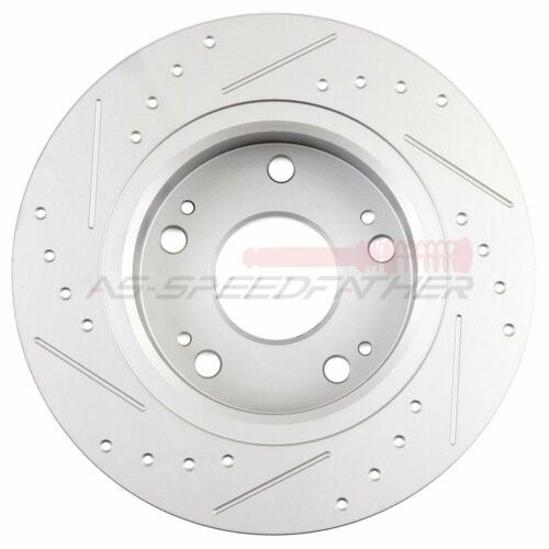 Rear Brake Rotors Discs And Ceramic Pads For Honda Accord 2003-2007 2004 Front