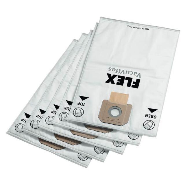 AC VCE 45 L M M 5x bolsas para aspirador tejido Flex S 47
