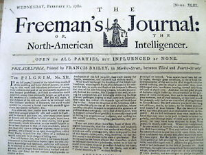 1782-newspaper-Britain-says-REVOLUTIONARY-WAR-to-END-aftr-losing-YORKTOWN-BATTLE