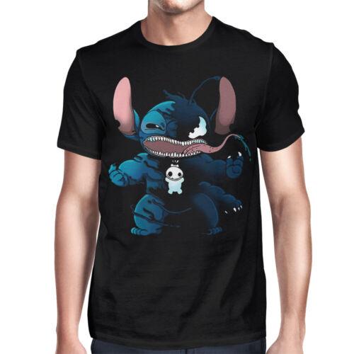 Lilo And Stitch Disney Marvel Comics Funny Tee Stitch Venom T-Shirt