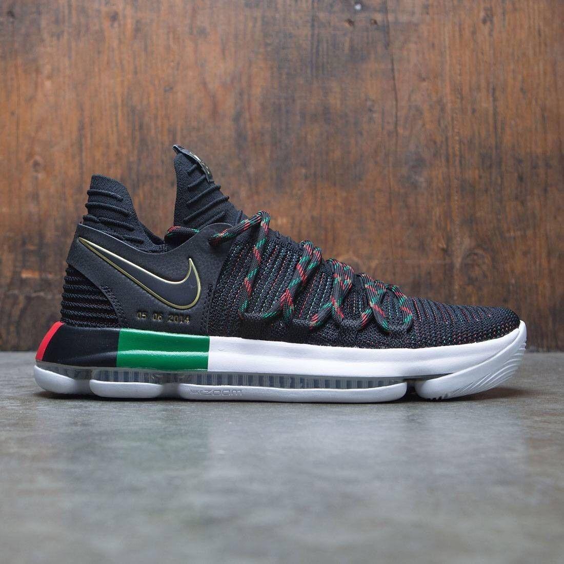 Nike Zoom KD 10 X BHM LMTD Size 10. 897817-003 Jordan Kobe